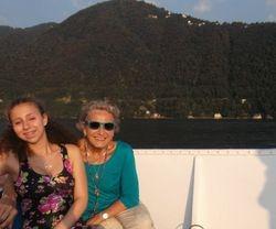 Boat ride on Lake Como