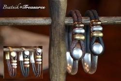 Prairie Leather Bracelet