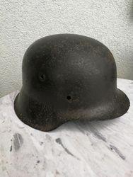 Vokiskas salmas. German helmet WW2. Kaina 92