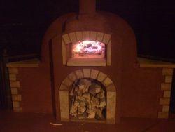 Masonry Bread/ pizza oven Lone Hawk Farm