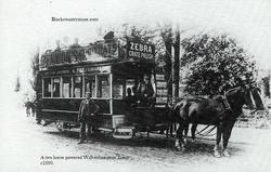 Tettenhall Horse drawn Tram. 1880s.