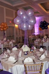 Balloon Cluster Centerpieces