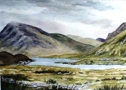 Glaciated landscape, Snowdonia