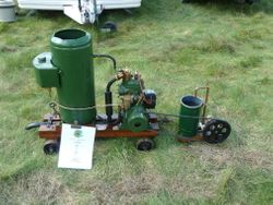 Stationary engine & pump