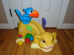 Fisher Price Disney Drop 'n Roar Simba - $20