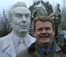 In a park in Moscow where they keep old Soviet statues