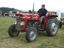 1972 Massey Ferguson 135 tractor