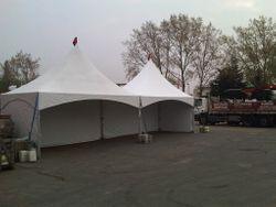 Marquee for Buildbase Basildon