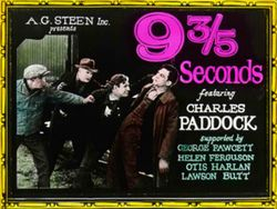 9 3/5th Seconds movie poster