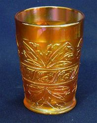 Lily of the Valley tumbler, marigold
