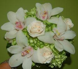 Dawn Wilshire Tropical Wedding Bouquet