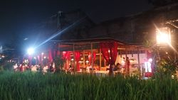 our restaurant in the rice fields