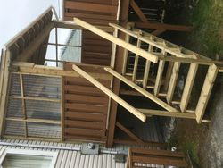 7' x 12' Roof & Stairs