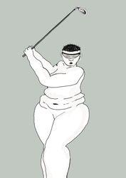 Golf lady