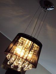 La lampara del living