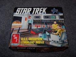 TOS USS Enterprise Command Bridge - AMT/ertl