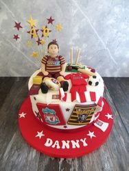 40th birthday sporting cake