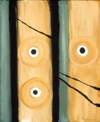 Black & Tan #93, Acrylic, 16x20, Original Sold