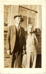 McCoy Ainsley and Ida Cahoon Ainsley late 1930s