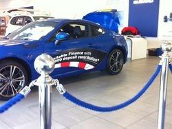 Retail Car dealership showroom