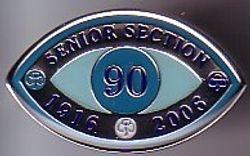 2006 Senior Section Anniversary Badge (metal)