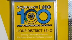 Lions District 35-O Disaster Trailer