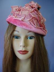 Vintage Pink Velvet Petals