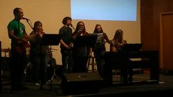 Contemporary Worship Night-Jerad and the team lead us