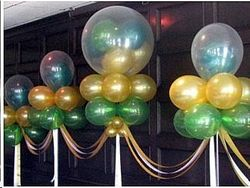 Floating Balloon Clouds for Birthday Party