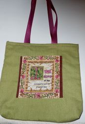 Tote bag- with verse on Etsy