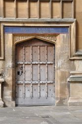 Courtyard Door, Bodleian Library, Oxford