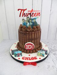 One Direction Drip Cake