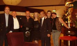 Michael,keith,paul,rose,jose,nicholas and alexandria at Crown Plaza afterparty
