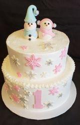 Mr. & Mrs. Snowman