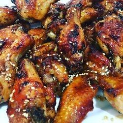 Sticky Chicken Wings Platter