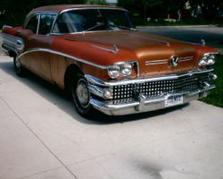 4. 58 Buick Special 4 Dr