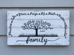 Famil Tree Sign