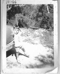 Grandmaster Mosqueda at five years old
