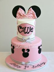 Minnie mouse Cake 6