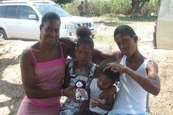 1st baby boy born in the village-2009