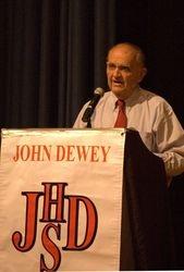 Dr. Joshua Segal, the first Principal