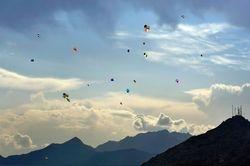 Sky full of Afghani Kites!