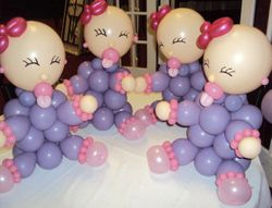 BABY THEMES TABLE CENTER PIECES