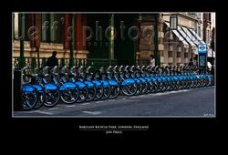 Barclays Bicycle Park, London, England