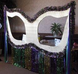 Giant Mardi Gras Mask