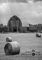 Missouri Farm B&W