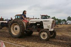 David Brown narrow tractor