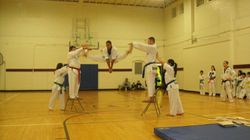 Quan Gordon Spit Kick 7 ft In The Air