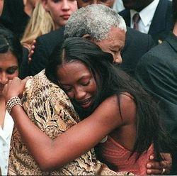 Mandela and Naomi Campbell
