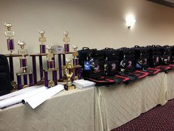 More trophies and awards
